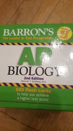 500 biology flash cards for Sale in Chandler, AZ