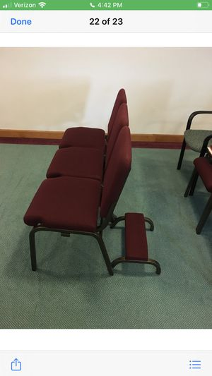 Church pews/3 chairs for Sale in Lansing, MI