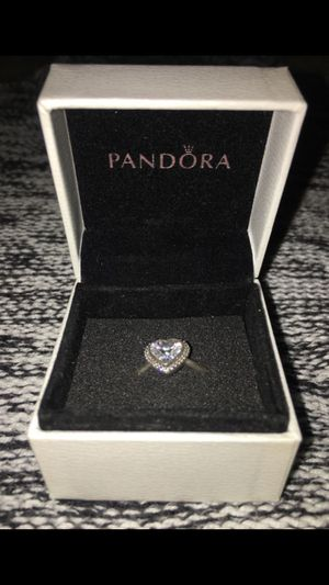 PANDORA Sparkling Love Heart Ring for Sale in Silver Spring, MD