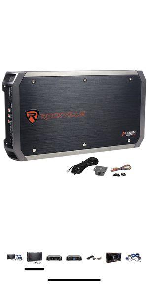 Rockville phenom 3200 watt 5 channel amp for Sale in Edison, NJ