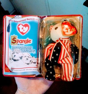 American Flag Bear Beanie babie for Sale in Fresno, CA