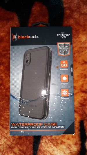 """""""BLACKWEB Waterproof Case for an iPhone XR for Sale in Chico, CA"""