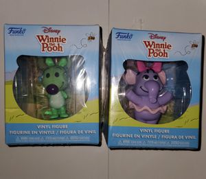 Woozle and heffalump funko mini vinyls for Sale in Largo, FL