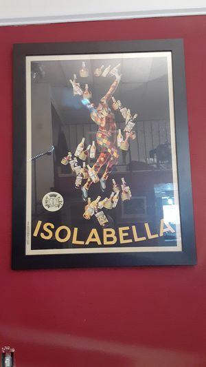 Isolabella art work with pristine frame work for Sale in Covington, KY