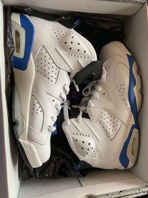 Jordan Retro 6 Blue Sport for Sale in Long Beach, CA