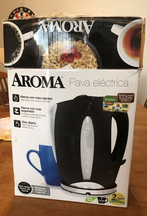 Aroma electric kettle for Sale in Warrenville, IL