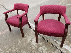 Guest chairs $50 each (good condition) for Sale in Houston, TX