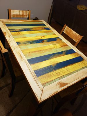 Kitchen table with 4 chairs for Sale in Arlington, VA