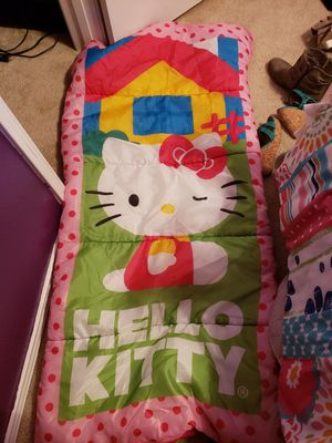 Hello kitty sleeping bag for Sale in Fort Worth, TX