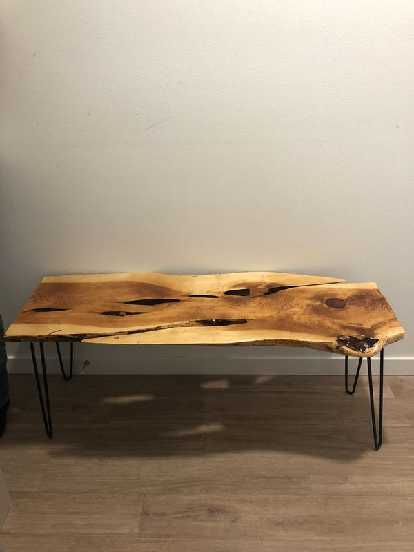 Modern Live Edge Table