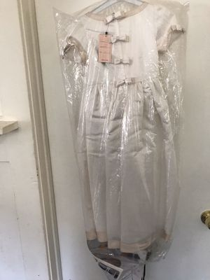 Brand new flower girl satin dress for Sale in Los Angeles, CA