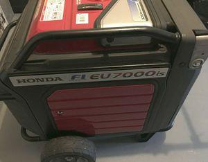 Portable - generator / Honda EU7000IAT1 , 7k-watt for Sale in Honolulu, HI