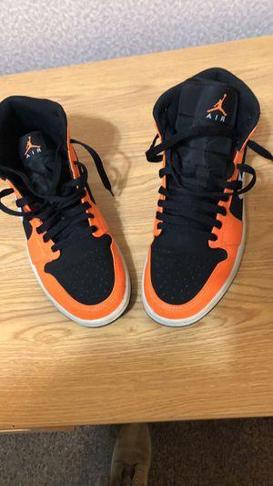 Orange & Black Jordan 1's for Sale in Wichita, KS
