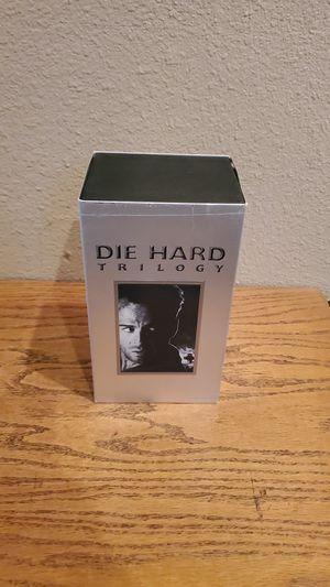 Die Hard trilogy 3 Vhs set for Sale in Torrance, CA