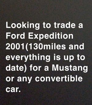 Looking to trade for mustang for Sale in San Jacinto, CA