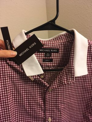 Authentic and brand new original Michael Kors Men 's shirt with tag for Sale in San Diego, CA