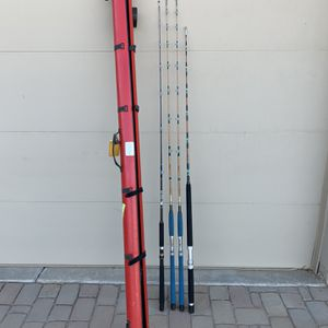 High Quality Fishing Rods, Calstar, Kencor, Sabre for Sale in Sacaton, AZ