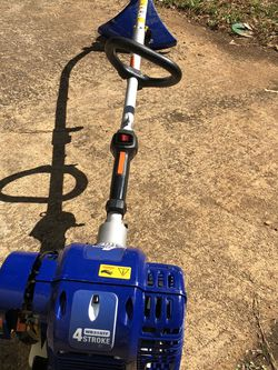 BaBadger 26 CC 2-Cycle 2-in-1 Gas Full CStraight Shaft Grass Trimmer for Sale in Atlanta,  GA