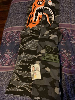 Bape X undefeated hoodie. XL for Sale in San Diego, CA