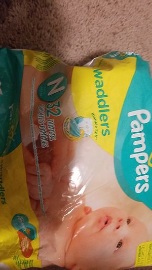 Pampers size N for Sale in Springdale, MD