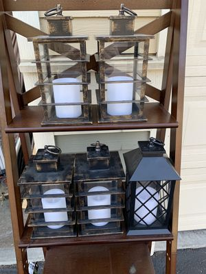 Battery operated lanterns for Sale in Aurora, OR