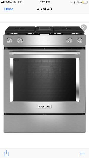Kitchen aid stainless steel stove for Sale in Dearborn, MI