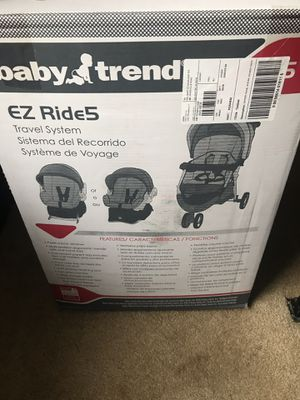 Baby trend stroller. But for my twins but only using the car seat. The stroller is new. Never used for Sale in Warren, MI