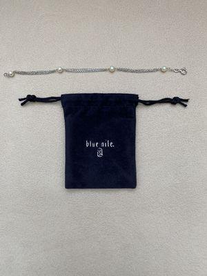 Blue Nile Freshwater Cultured Pearl Bracelet for Sale in Bellevue, WA