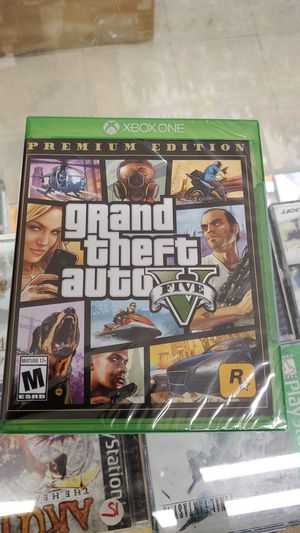Grand theft v xbox one brand new for Sale in TEMPLE TERR, FL