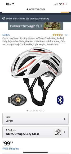 Smart cycling helmet brand new with all attachments for Sale in San Jose, CA
