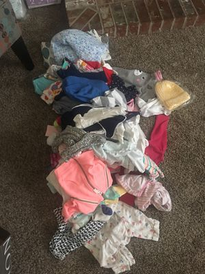 Lots of baby girl clothes. for Sale in Tacoma, WA