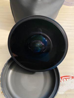 Opteka fish eye lens for Sale in Sacramento, CA