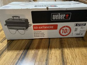 Weber Grill Go Anywhere NEW for Sale in Norwalk, CT