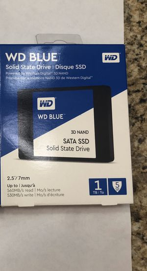 "1TB WD Blue SSD 2.5"" for Sale in Palm Shores, FL"