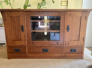Mission Style Entertainment Center for Sale in Dana Point, CA