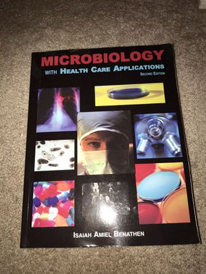 Microbiology with Health Care Applications Book for Sale in Massillon, OH