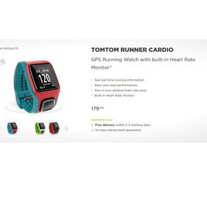 TomTom GPS cardio running watch for Sale in Miami, FL