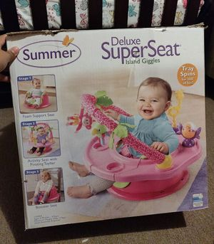 Summer Infant Deluxe Super Seat - Island Giggles for Sale in Los Angeles, CA