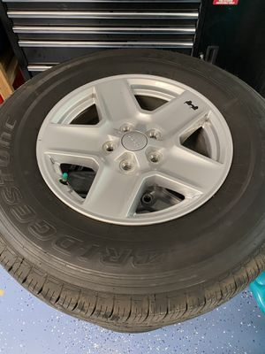 Jeep Wrangler wheels and tires *NEW for Sale in Tarpon Springs, FL