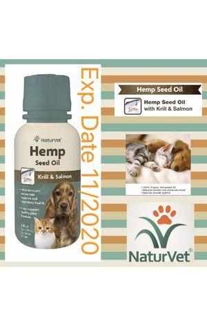 Hemp Seed oil Krill & Salmon 8 fl. oz Retails $27 for Sale in Sunrise, FL