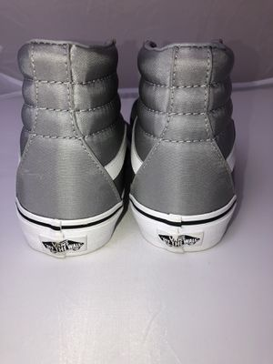 Gray VANS high tops women's size 6.5 for Sale in Wylie, TX