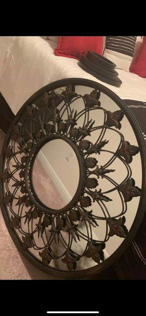 Beautiful Decorative Bronze Mirror for Sale in Hutto, TX