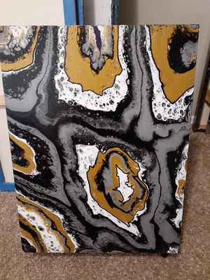 ARTIST ORIGINAL PAINTING ON WOOD for Sale in Mesa, AZ