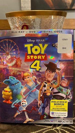 Toy Story 4 Blu-ray + DVD + Digital Code for Sale in Lynnwood, WA