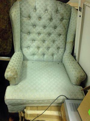 Retro pale blue sofa seat for Sale in Caledonia, MI