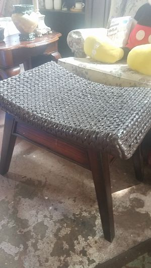 24 inch x 20 inch foot stool from pier imports for Sale in Farmville, VA