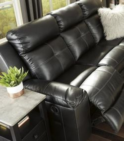 In Stock ⚡▶️New Brand ♦️SPECIAL] Kempten Black LED Reclining Living Room Set ♨️ for Sale in Silver Spring,  MD