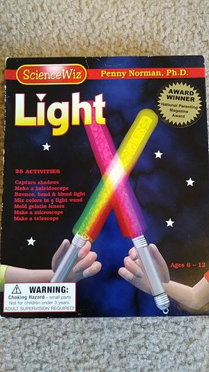 NEW Science Wiz kids Projects with light for Sale in Falls Church, VA