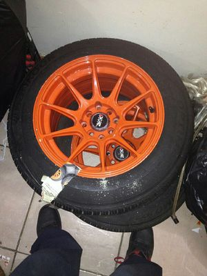 4X tires with rims for Sale in New York, NY