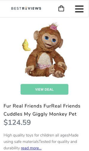 FurReal friends monkey for Sale in Homestead, FL